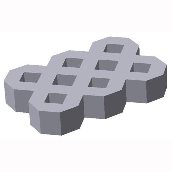 Газонная решётка из бетона