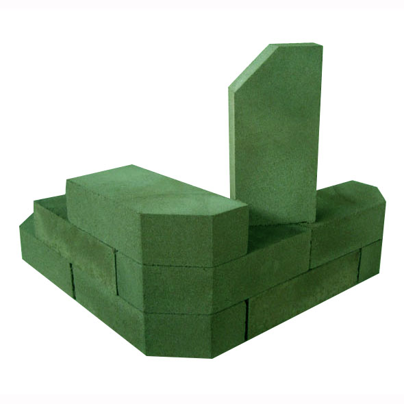 Камень фигурный зелёный