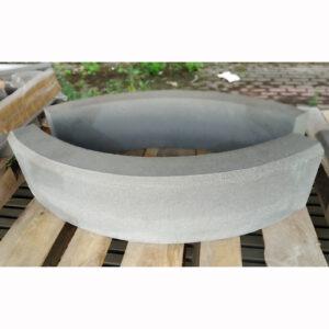 Бордюр радиусный из бетона