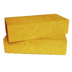 Кирпич декоративный гладкий жёлтый