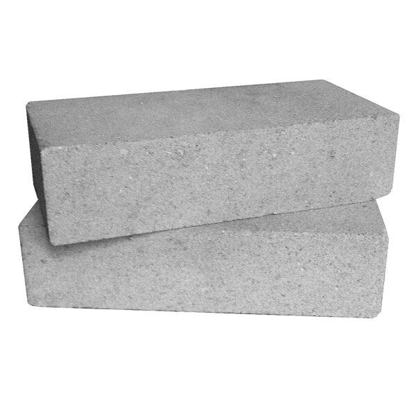 Кирпич декоративный гладкий серый